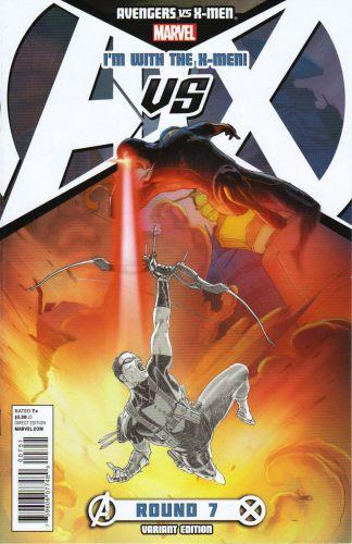 Avengers vs. X-Men #7 X-Men Team Variant