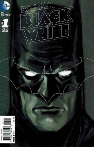 Batman Black and White #1 1:25 Phil Noto B&W Sketch Variant DC 2013