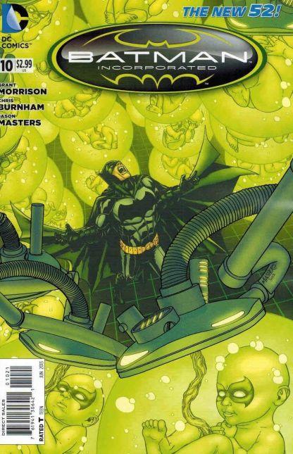 Batman Incorporated #10 Jason Masters Variant New 52
