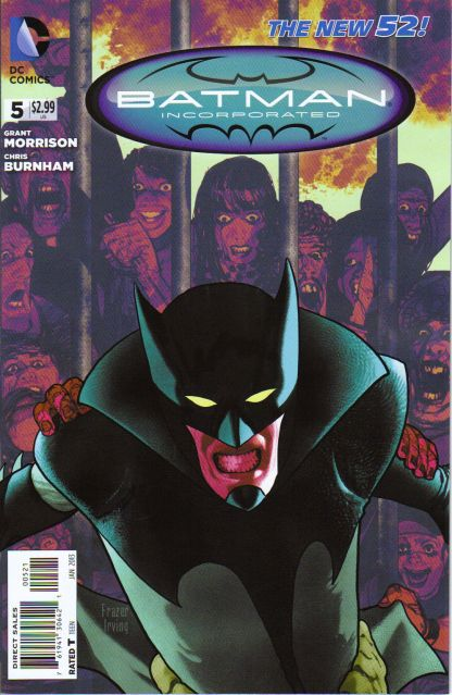 Batman Incorporated #5 Frazier Irving Variant New 52