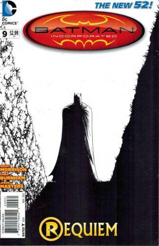 Batman Incorporated #9 Chris Burnham Sketch Variant Cover Requiem
