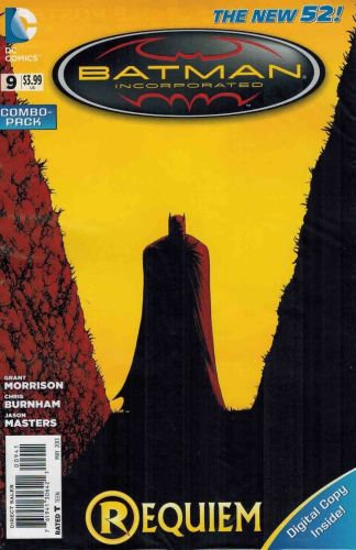 Batman Incorporated #9 Digital Combo Pack Requiem New 52