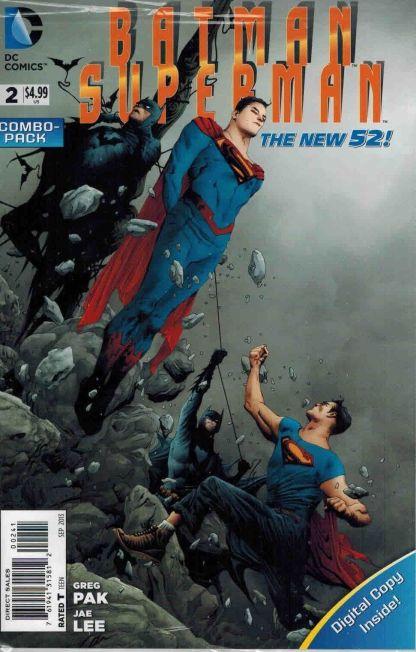 Batman Superman #2 Digital Combopack Variant Jae Lee Cover Greg Pak