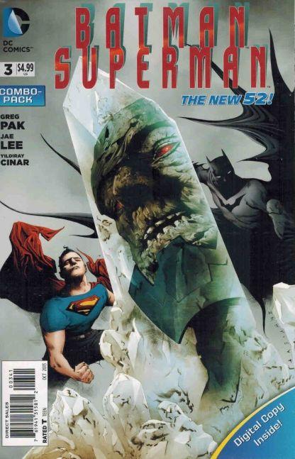 Batman Superman #3 Digital Combo Pack Jae Lee Variant