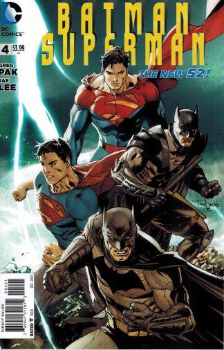 Batman Superman #4 1:25 Tony Daniel Variant DC New 52 2011