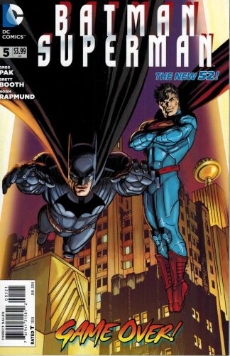 Batman Superman #5 Jon Bogdanove Variant