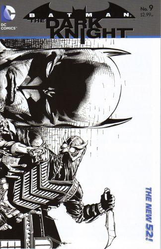 Batman: The Dark Knight #9 1:25 Sketch Variant