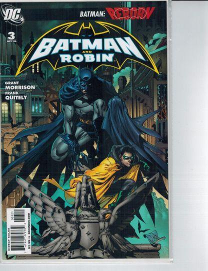 Batman and Robin #3 Tony Daniel VARIANT