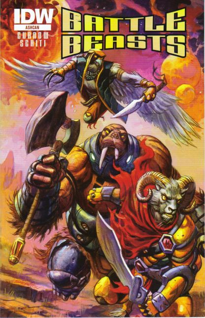 Battle Beasts Ashcan C2E2 Exclusive Variant!