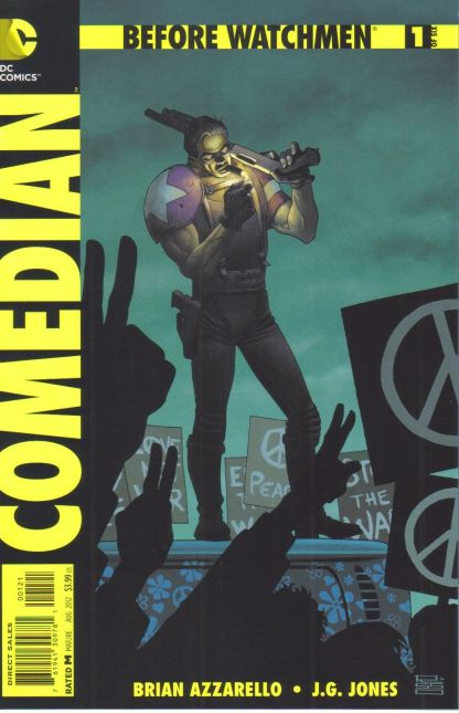 Before Watchmen Comedian #1 1:25 Eduardo Risso Variant DC 2012