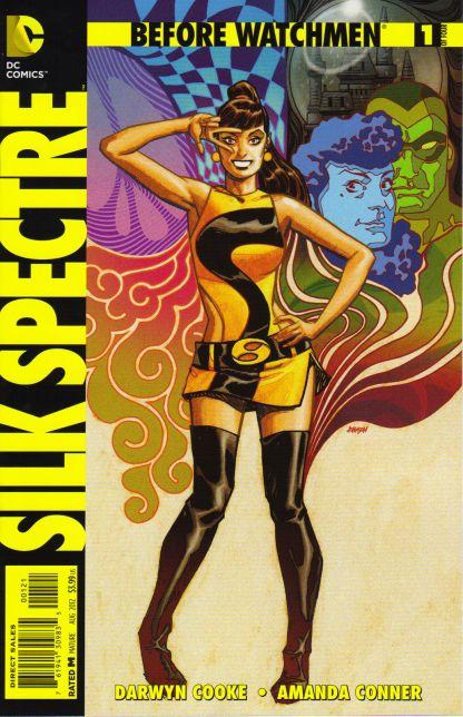 Before Watchmen Silk Spectre #1 1:25 Dave Johnson Variant DC Comics 2012