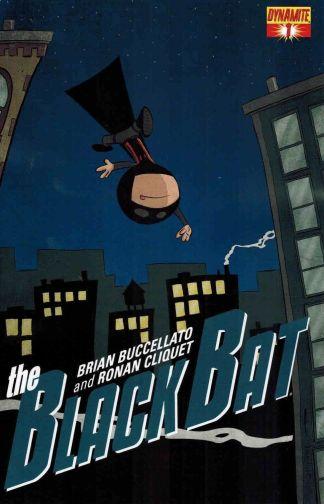 Black Bat #1 Chris Eliopoulos Variant