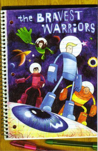 Bravest Warriors #1 Cover D Jim Rugg Variant Pendleton Ward Adventure Time