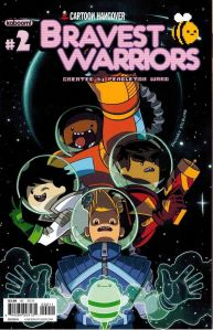 Bravest Warriors #2 Cover B Zachary Sterling Cover
