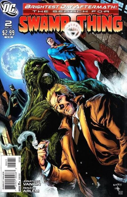 Brightest Day Aftermath: Search for Swamp Thing #2 VARIANT