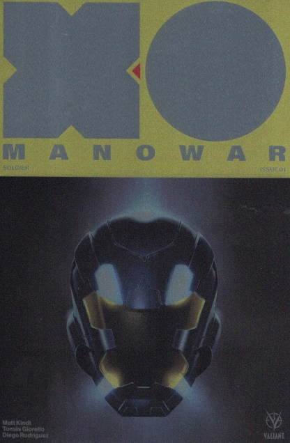 X-O Manowar #1 1:500 Palosz Cover F Metal Variant Valiant 2017