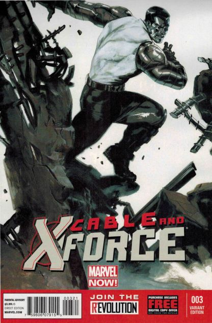 Cable and X-Force #3 1:50 Gabrielle Dell'Otto Variant Marvel NOW