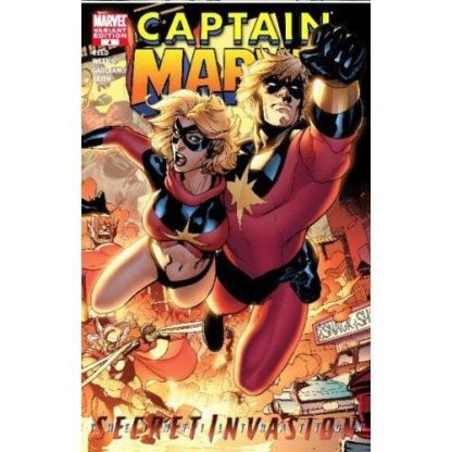 Captain Marvel #4 1:10 Terry Dodson Connecting Variant HTF Rare