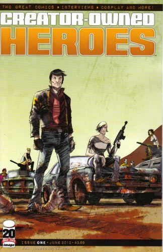 Creator-Owned Heroes #1 American Muscle Variant