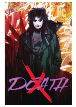 NC Comicon Exclusive The Crow Print by Tommy Lee Edwards