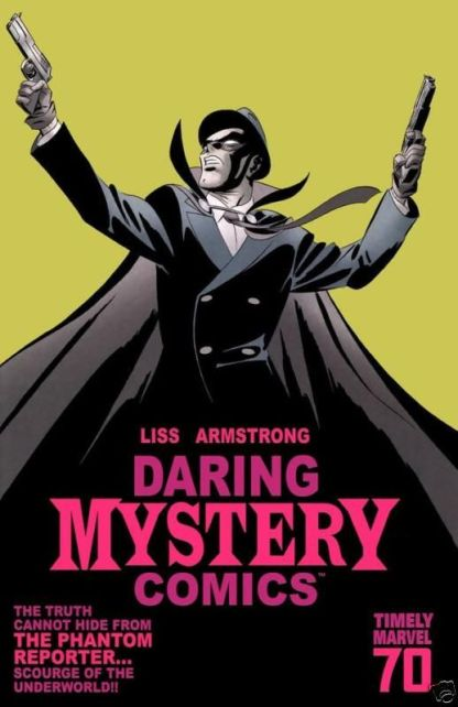 Daring Mystery Comics 70th Anni Special Martin Variant