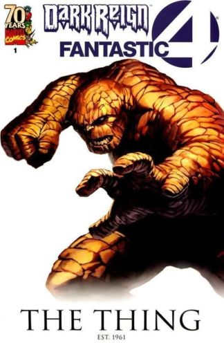 Dark Reign Fantastic Four #1 The Thing Variant