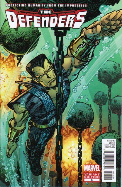 Defenders #5 Walter Simonson Variant