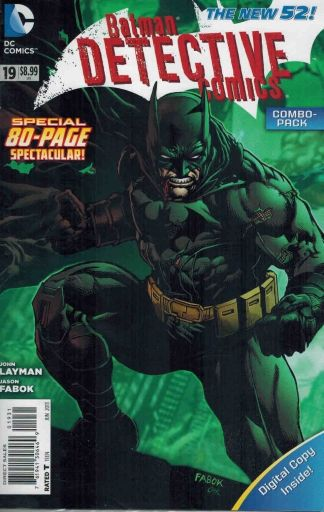 Detective Comics #19 Digital Combo Pack Sealed Polybagged