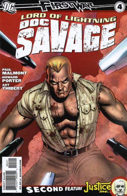 Doc Savage #4 Cassaday Variant