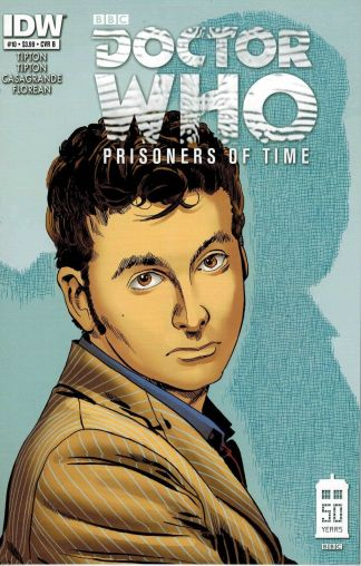 Doctor Who: Prisoners of Time #10 Dave Sim David Tennant Variant