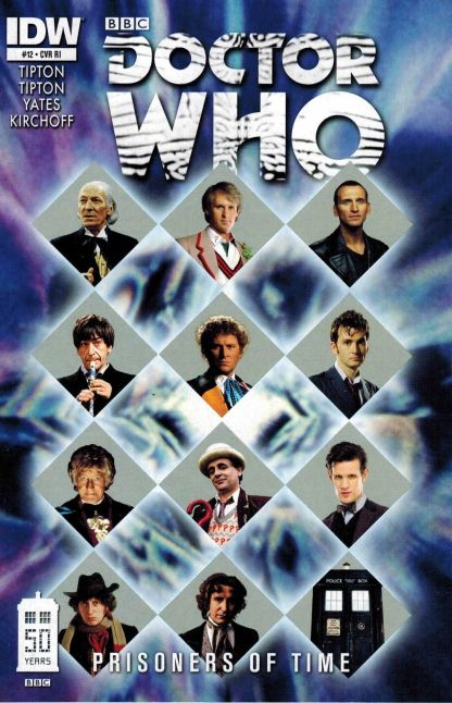 Doctor Who: Prisoners of Time #12 All 12 Doctors Photo Variant