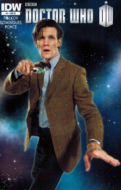 Doctor Who Vol. 3 #7 Photo Variant Cover