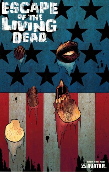 Escape of the Living Dead #5 Die Cut Mike Wolfer American Flag Variant