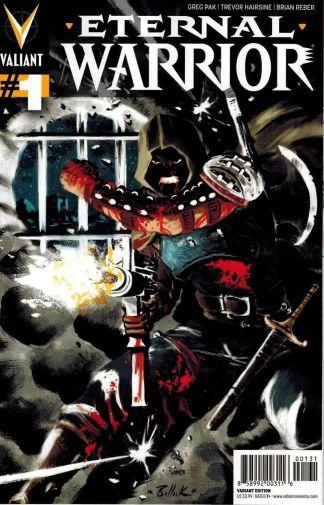 Eternal Warrior #1 Dave Bullock Variant Greg Pak Valiant