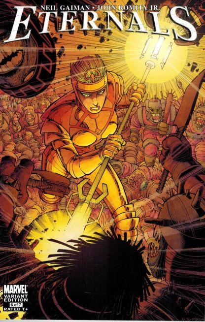 Eternals #6 John Romita Jr Variant Neil Gaiman