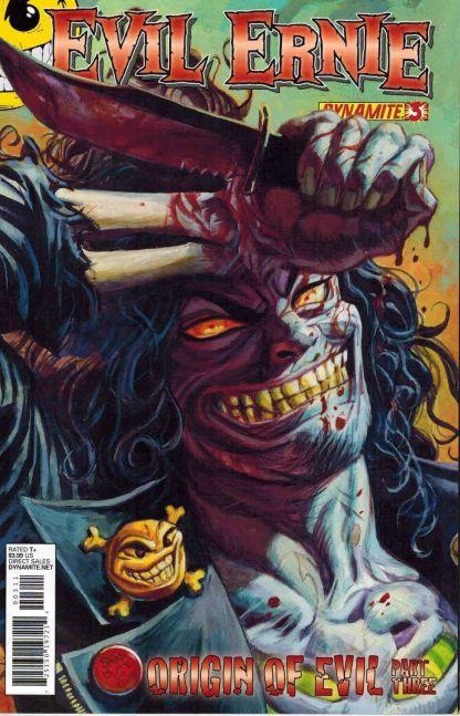 Evil Ernie #3 Dan Brereton Variant Cover