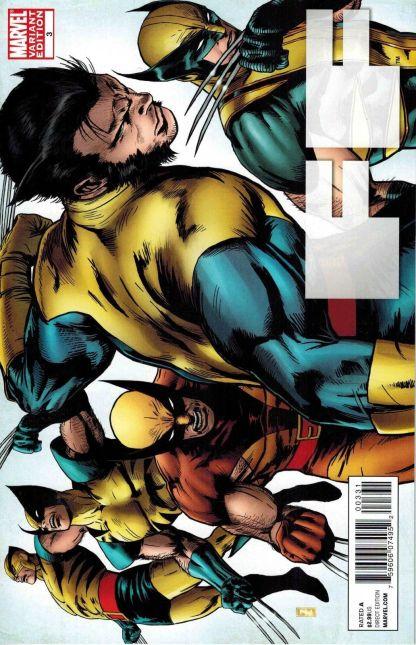 FF #3 1:20 Zircher Wolverine Evolutions Variant Marvel 2011 X-Men RARE