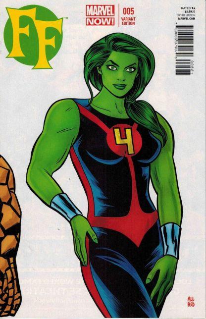 FF #5 Mike Allred She-Hulk Variant