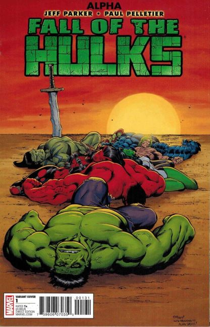 Fall of the Hulks Alpha #1 Ed McGuinness Variant