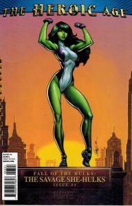 Fall of the Hulks Savage She-Hulks #3 J Scott Campbell Heroic Age Variant