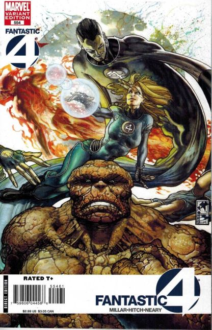 Fantastic Four #554 Simone Bianchi Variant