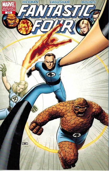 Fantastic Four #570 John Cassaday Color Variant