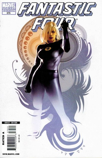 Fantastic Four #575 Sue Storm Invisible Woman Variant
