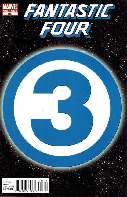 Fantastic Four #583 MRRC 3 Variant