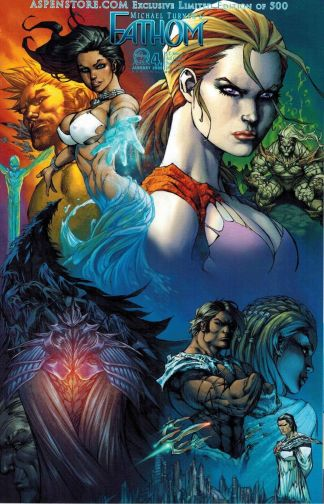 Fathom #4 Aspen Store Exclusive Limited Michael Turner Variant