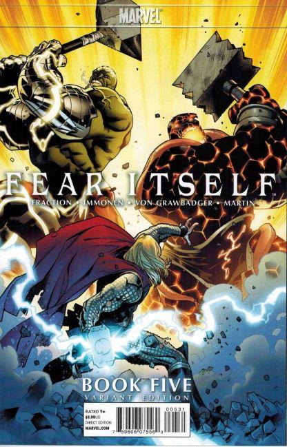 Fear Itself #5 Stuart Immonen Variant
