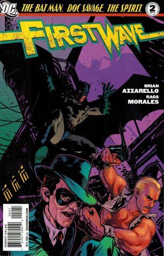 First Wave #2 Tony Harris Variant Doc Savage Spirit Batman