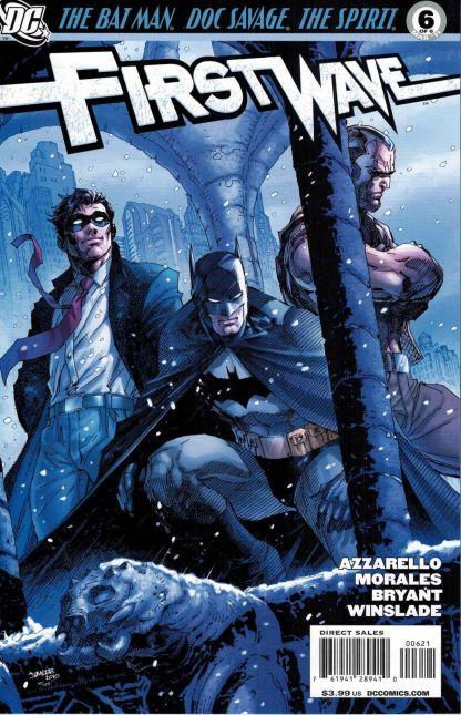 First Wave #6 Jim Lee Variant DC Comics Rare HTF Batman Starman