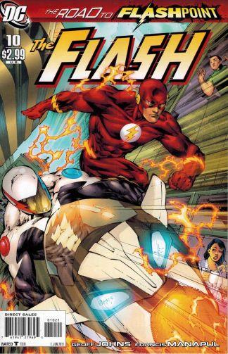 Flash #10 Ed Benes Variant