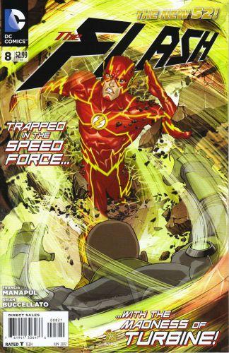 Flash #8 Bernard Chang Variant